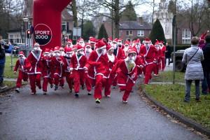 Santa Run Driebergen startactie